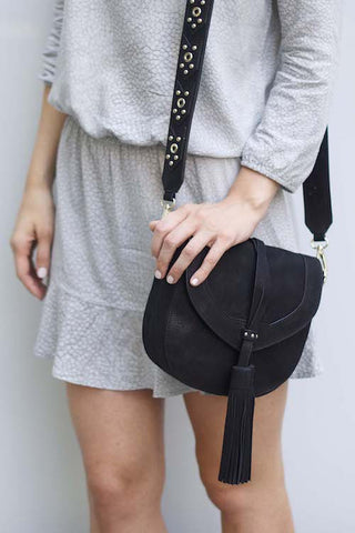 Madison Saddle Bag | Black