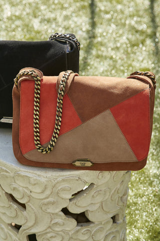 Luna Messenger in Brown/Multi