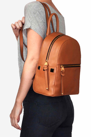 Greenwich Backpack | BROWN
