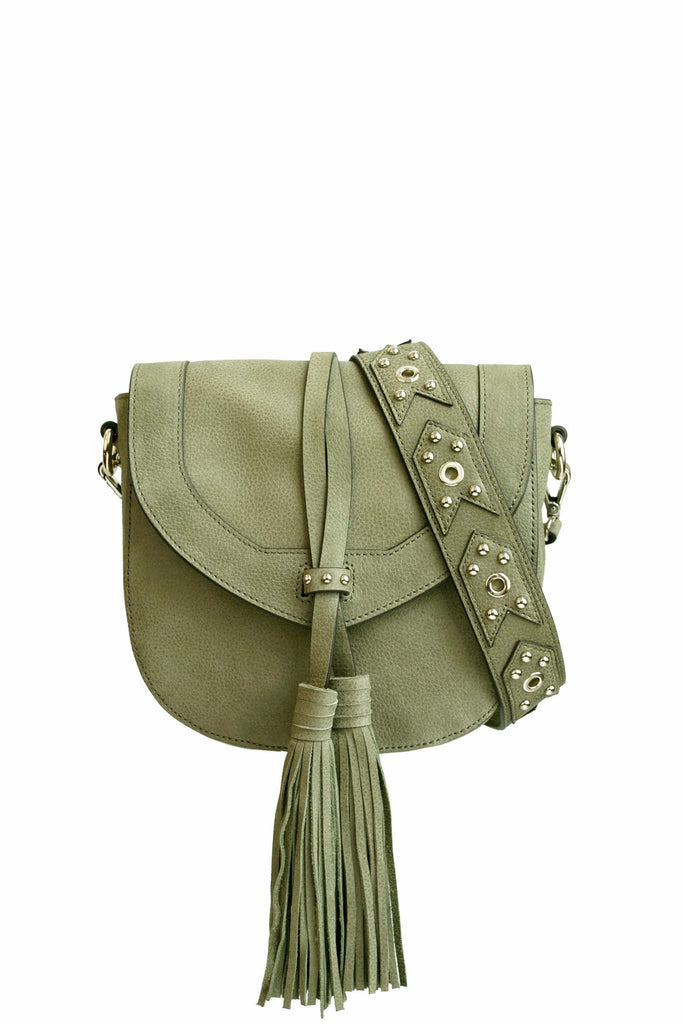 Madison Saddle Bag | Sage
