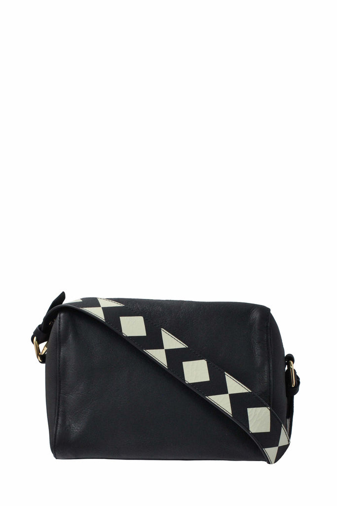 Delancy Small Crossbody | Black
