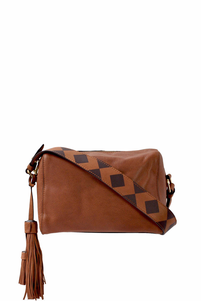 Delancy Small Crossbody | Cognac (Brown)