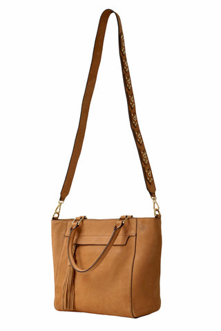 Madison Tote | Cognac (Brown)