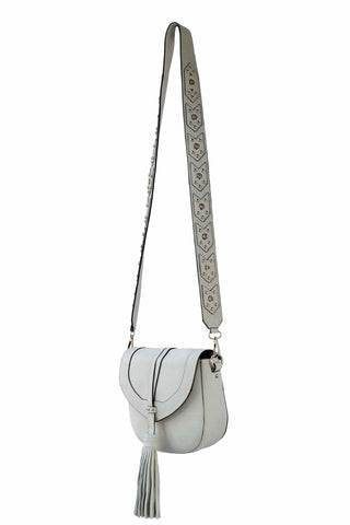 Madison Saddle Bag | Bone