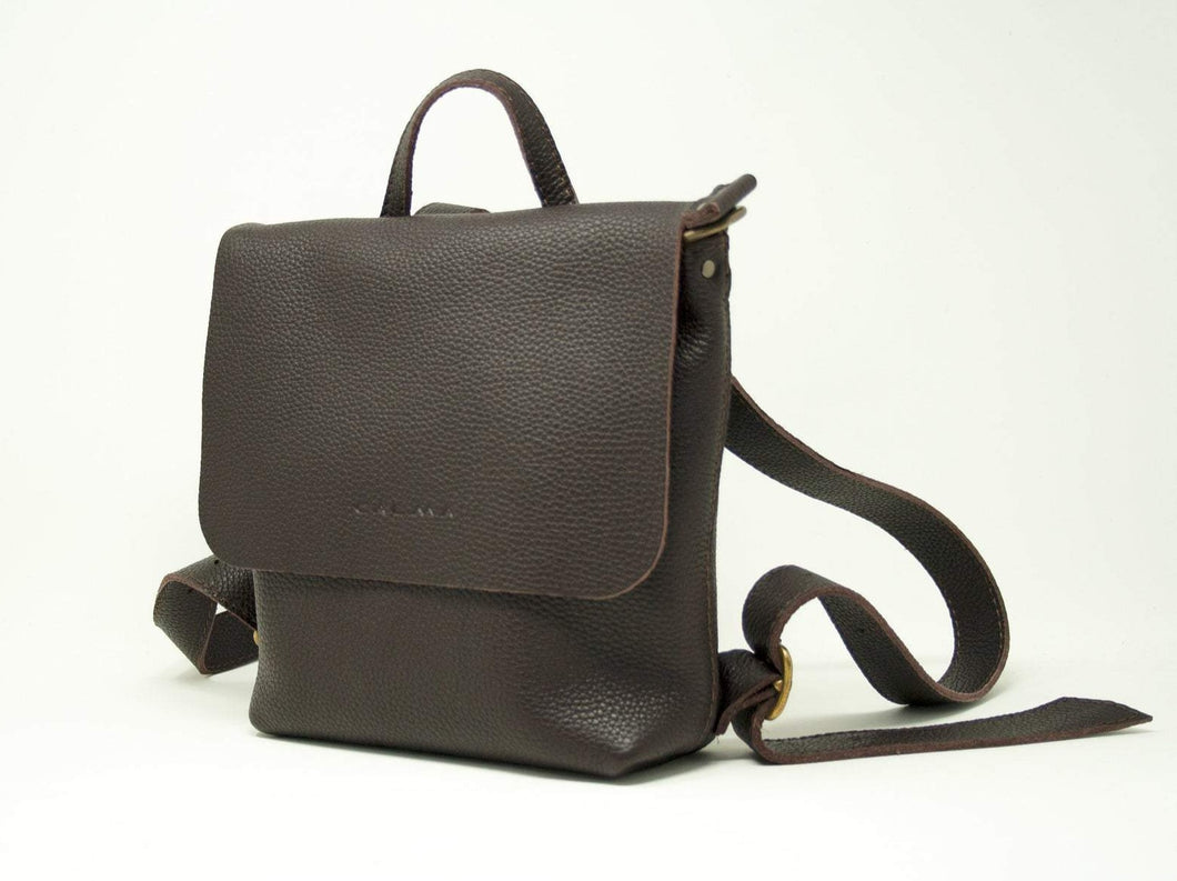 Leather Mini Backpack - UN BPK