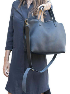 "Leather Tote Bag ""Vega"""