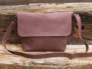 Leather Crossbody Bag - UN SAV