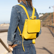 Load image into Gallery viewer, Leather Mini Backpack - UN BPK