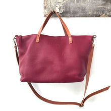 "Load image into Gallery viewer, Leather Tote Bag ""Vega"""