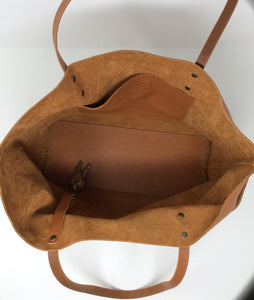 SALE 40% Off Tote bag, Full grain leather totebag. handmade with the highest quality full-grain spanish leather. Bol