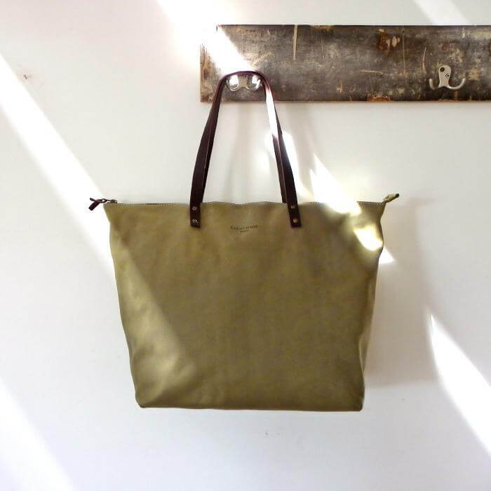 Oversized Leather Tote Bag  XL - Bel