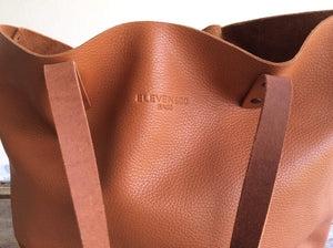 Leather Tote Bag - Bel