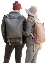 Load image into Gallery viewer, Leather Handmade Backpack - Laptop Bag Berlín