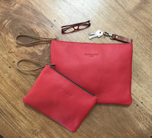 Load image into Gallery viewer, Leather Clutch Bag