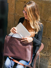 Load image into Gallery viewer, Leather Laptop - Tote Bag