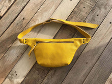 Load image into Gallery viewer, BumBag, HipBag ,Leather bag, Leather purse, Perfect gift