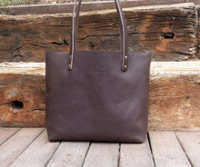 Load image into Gallery viewer, Leather Tote bag Handmade. Cloud auto.