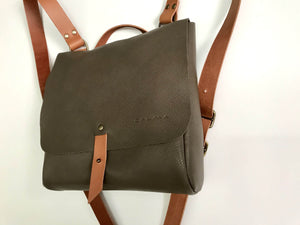Leather Backpack Smooth Full Grain Leather Gift Dubhe