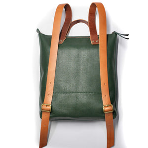 Leather Backpack Smooth Full Grain Leather Gift Merak
