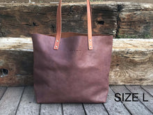 Load image into Gallery viewer, Oversized Leather Tote Bag  XL - Bel
