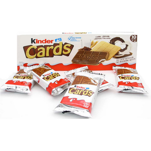 Kinder Cards 128g | mňamBOX