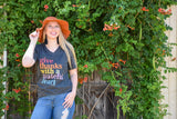 {H. Dk. Grey} Give Thanks w/ A Grateful Heart Tee