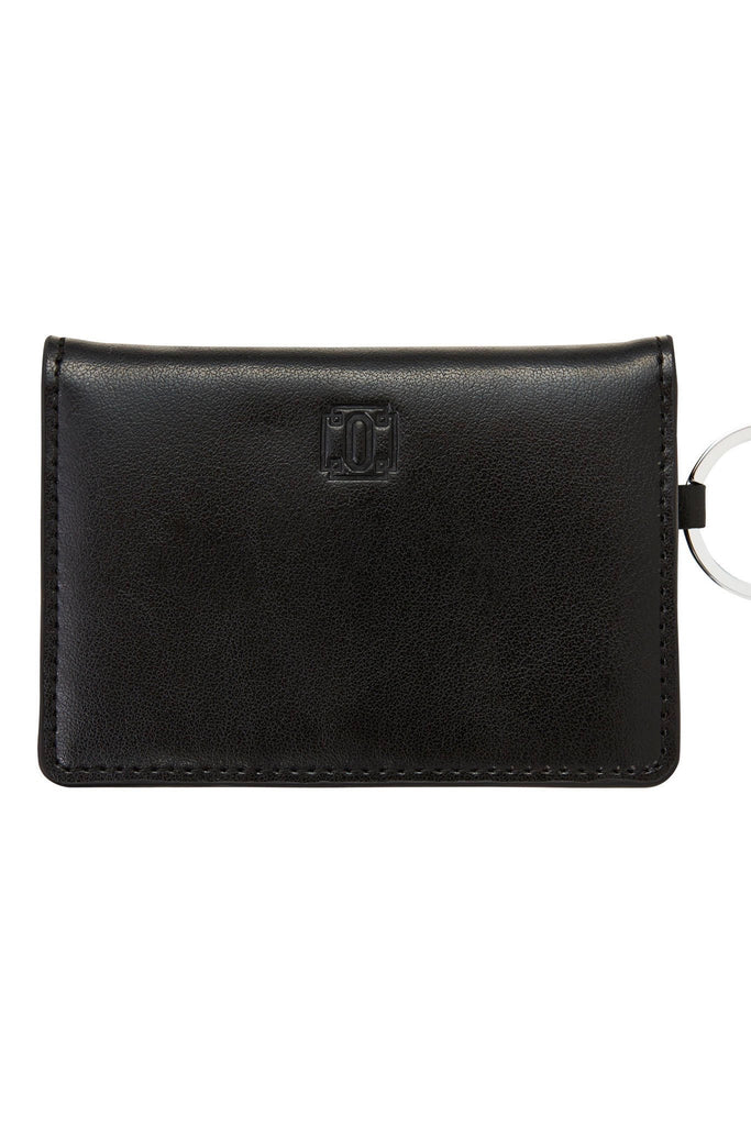 O-Venture: Back in Black Leather ID Case