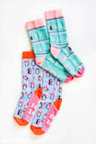 Jadelynn Brooke: Joy to the World Socks