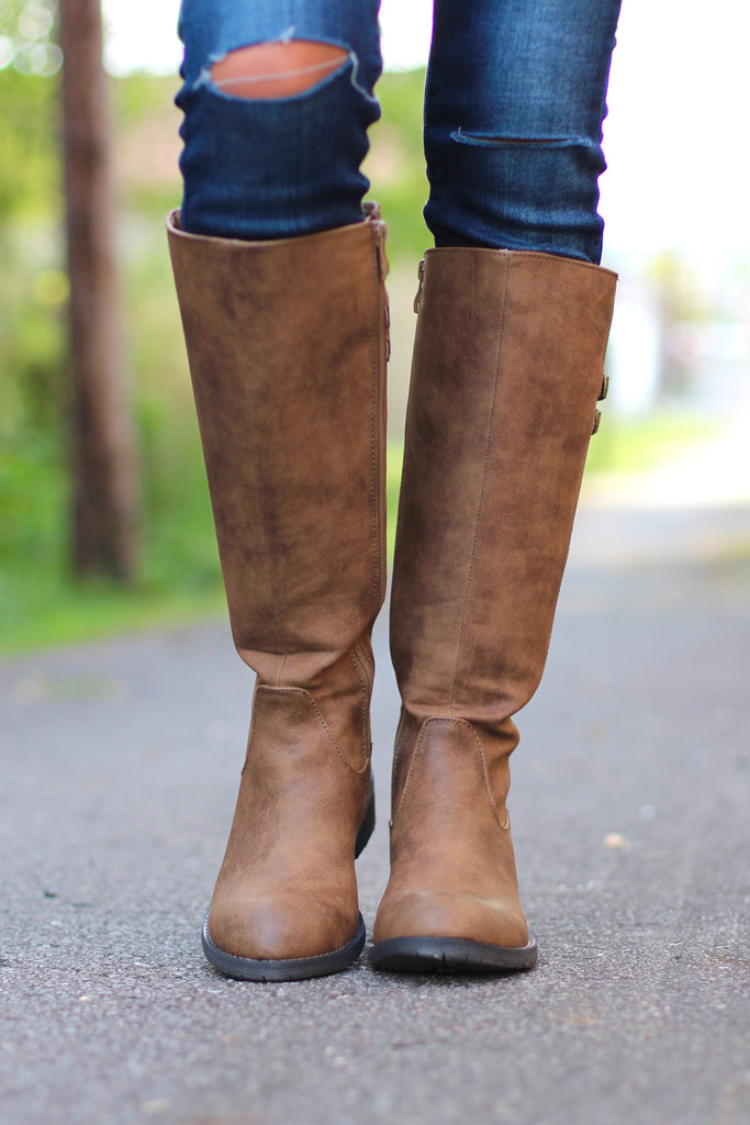 Very Volatile: Mira Riding Boot {Tan} - The Fair Lady Boutique - 3