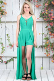 Basic Swing Tank {Sage} - The Fair Lady Boutique - 1