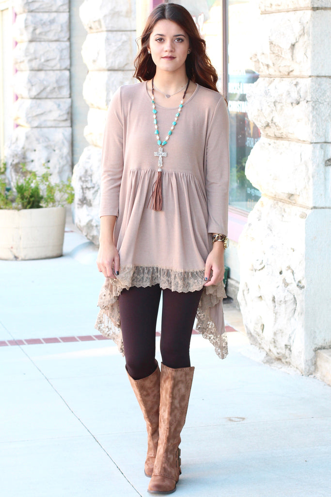 Not Rated: Blaire Riding Boots {Brown} - The Fair Lady Boutique - 5