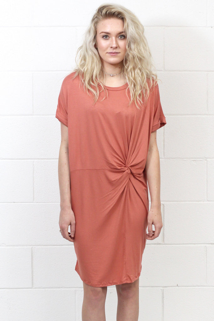 Knot Your T-Shirt Dress {Ginger}