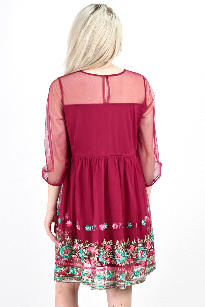 Double Trouble Layered Tunic {Plum} - The Fair Lady Boutique - 2