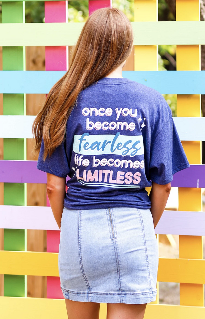 Jadelynn Brooke: Once You Become Fearless S/S V-neck