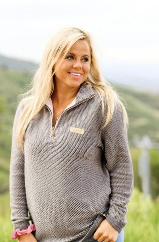 Jadelynn Brooke: Boyfriend Pullover Cowl Neck Sweater {Cream}
