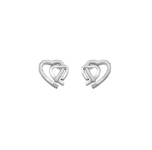 Load image into Gallery viewer, Hot Diamonds Amore Hearts Earrings