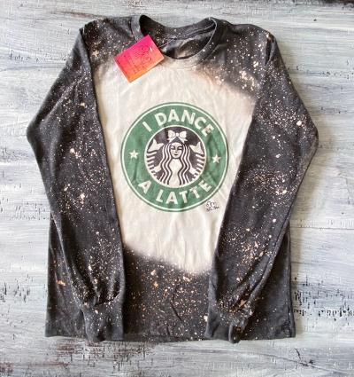 Dance A Latte Long Sleeve