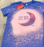 Moon Child Bleached Tee