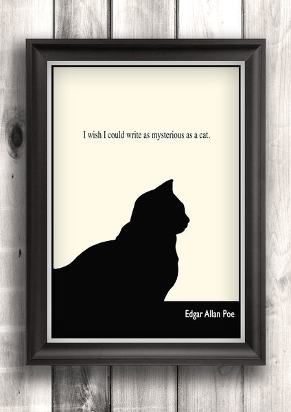 stylistic analysis of poe s black cat Criticism of the black cat as an author, poe is a very controversial figure hailed as one of the masters of the gothic genre, he receives much praise for his chilling, horrific tales of death and insanity.