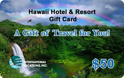 travel gift cards etc powered by international vacations inc