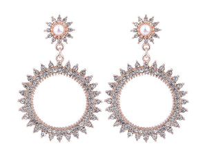 ROSIE SPARKLE HOOPS