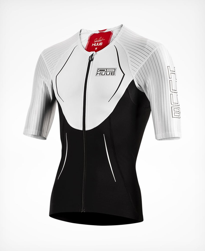 Dave Scott tri top long II blanc - HUUB