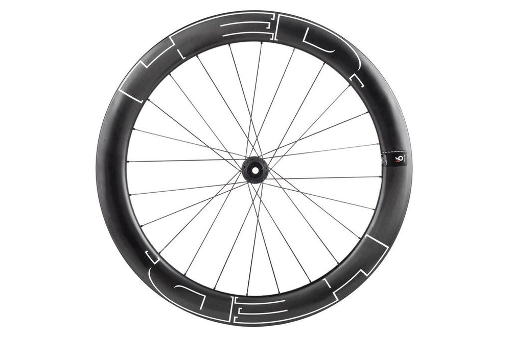 Vanquish 6 30x60mm Front 24 spoke Carbon Clincher Disk Brake 700c