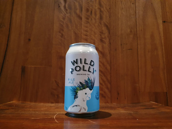 Wild Polly Gluten Free Pale Ale 375ml Can 4.5% ABV