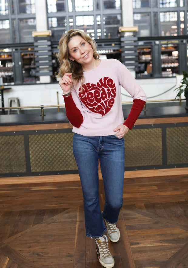 All We Need is Love Sweater