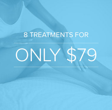 8 laser hair removal treatments for $79