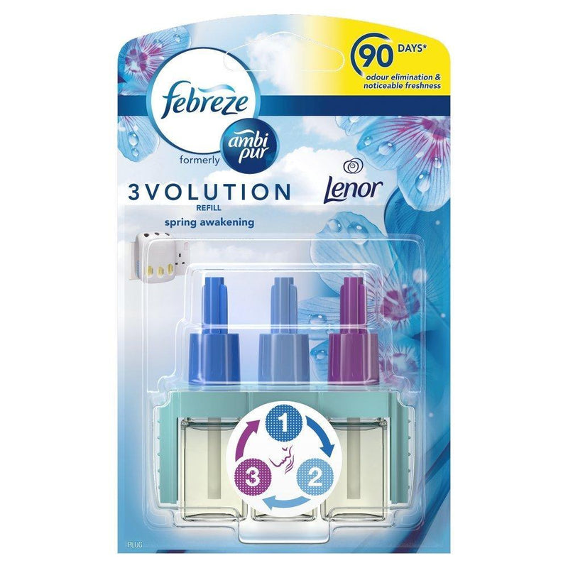 Febreeze - Febreze Ambi Pur 3Volution Air Freshener Plug-in Refill Spring Awakening