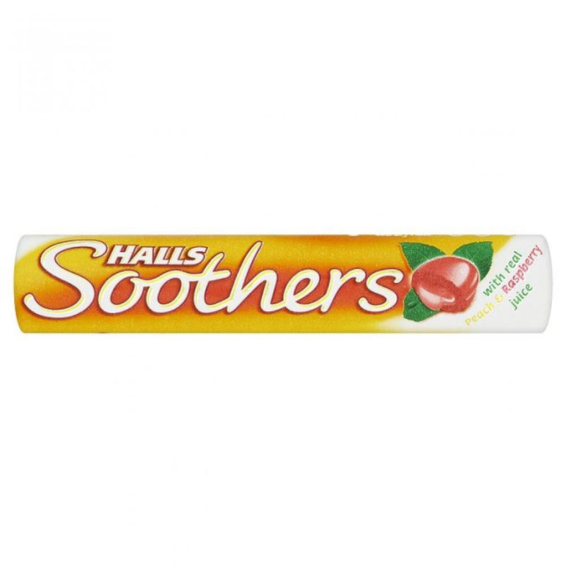 Halls - Halls Soothers Peach & Raspberry (45g)