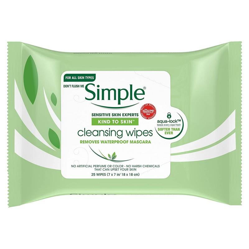 Simple - Simple Kind To Skin Facial Cleansing Wipes (25)