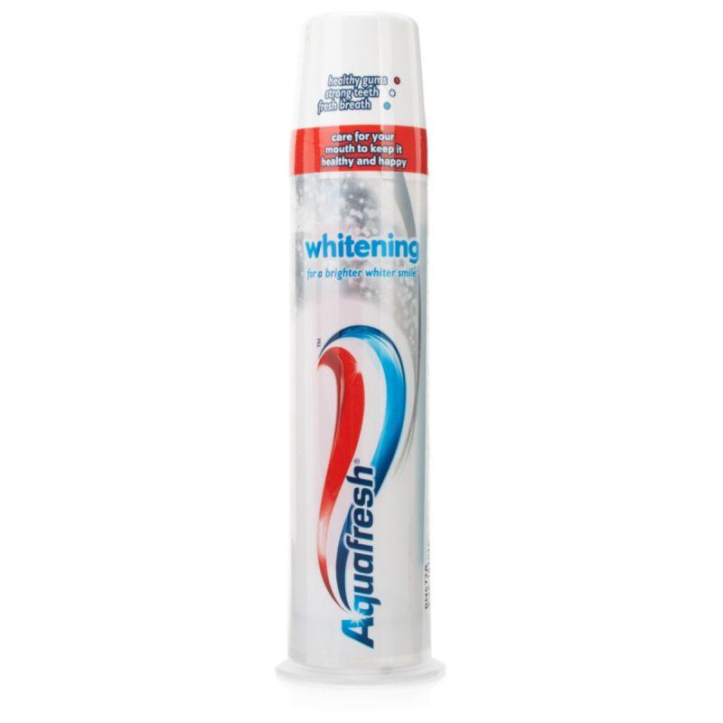 Aquafresh - Whitening Toothpaste Pump (100ml)